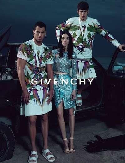 Exotic Blossoming Fashion