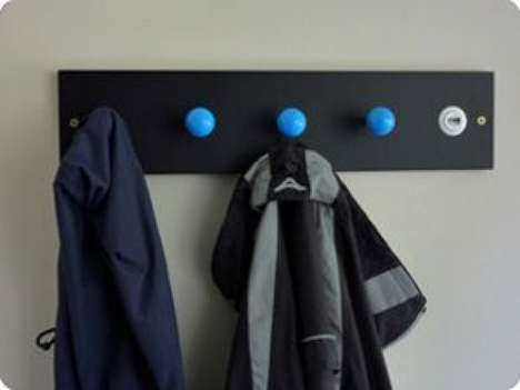 The 'hangUP Arcade Coat Hooks' are a Fun Way to Stay Organized