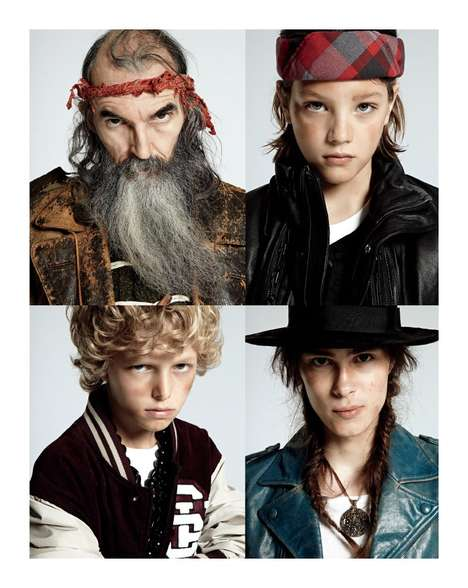 Generational Gypsy Shoots - The Renegades Editorial for The Wild Magazine is Rugged and Raw