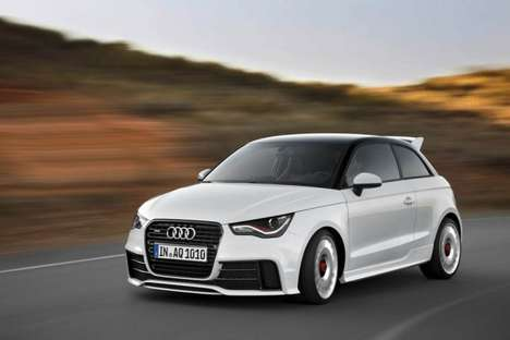 Sleek Compact Cars - The Audi A1 Quattro is a Limited Edition High Performance S1