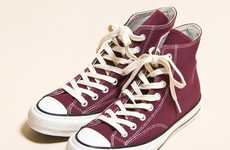 Comfy Hipster High-Tops - The Converse Addict All-Star Hi Kicks Feel Like You're Walking on a Cloud