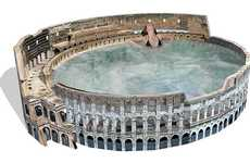 Modern Roman Baths - This Hot Tub by Daniel Incandela Will Make Your Backyard a Tourist Destination
