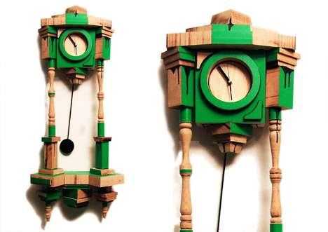 Kooky Craftwork Clocks