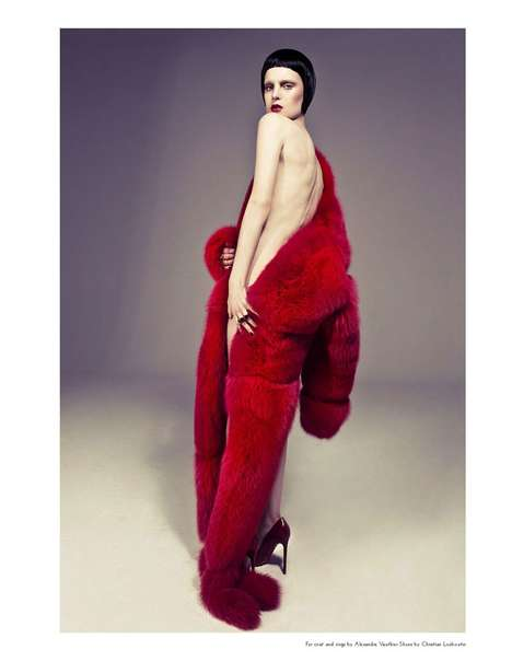 Risque Fur Editorials