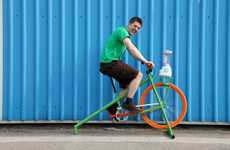 Wacky Wellness Organizations - Smoothie Bike Hire Takes a Pedal-Powered Approach to Positive Change