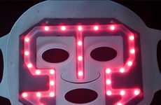 Illuminated Face Enhancers - The Magic LED Beauty Mask Promises Better Skin Through Red Lights