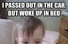 Inebriated Infant Image Macros