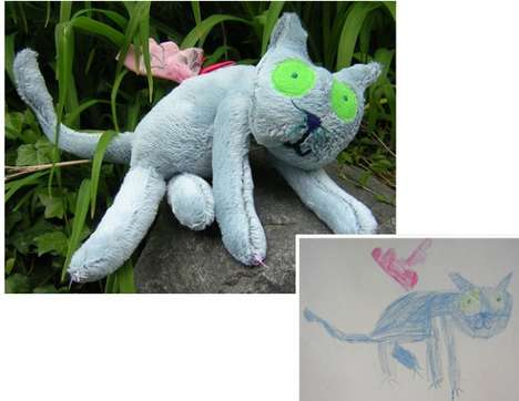 Child's Own Studio Turns Drawings into Stuffed Toys