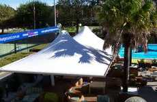 Shade Sails - StructureFlex Provides Stylish Protection From Harsh Rays