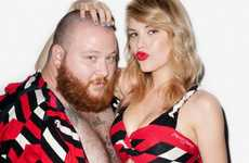 Scandalous Sock Campaigns - The Terry Richardson for Happy Socks Holiday 2011 Campaign is Silly