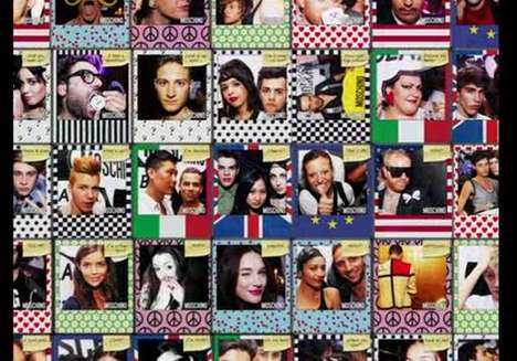 Photo-Personalizing Campaigns - Moschino 'Pic Me' App Eliminates Language Barriers