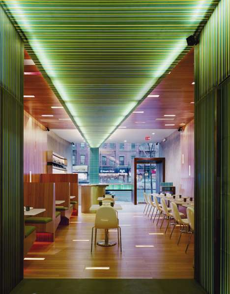 Vibrantly Striped Eateries
