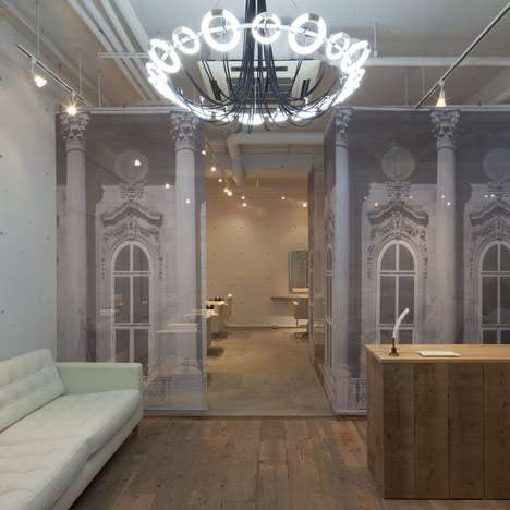Subdued Beauty Parlors - This Salon by Takara Space Design Features an Eerie Interior