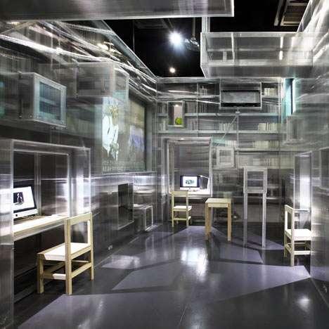 Translucent Block Book Rooms