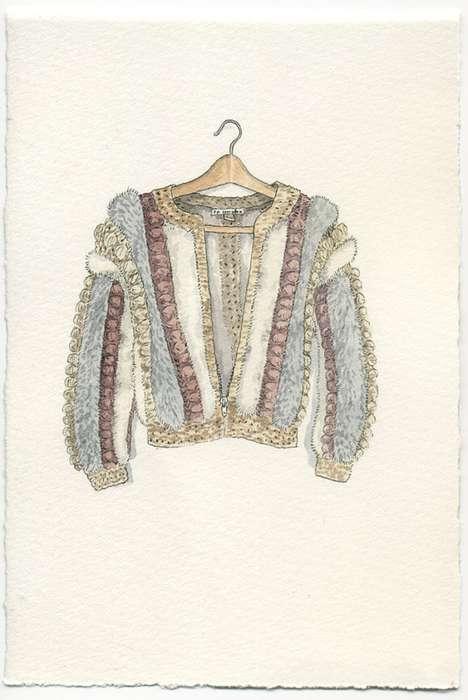 Iconic Fashion Illustrations