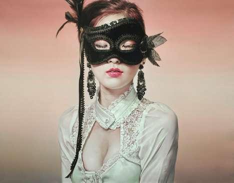 Photoreal Masquerade Paintings