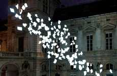 Fluttering Stationary Sculptures