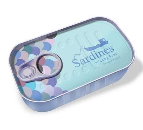Sleek Seafood Cases