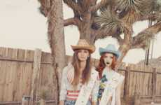 Chic Cowboy Captures - The Wildfox Spring Summer Lookbook Shows Classy Countryside