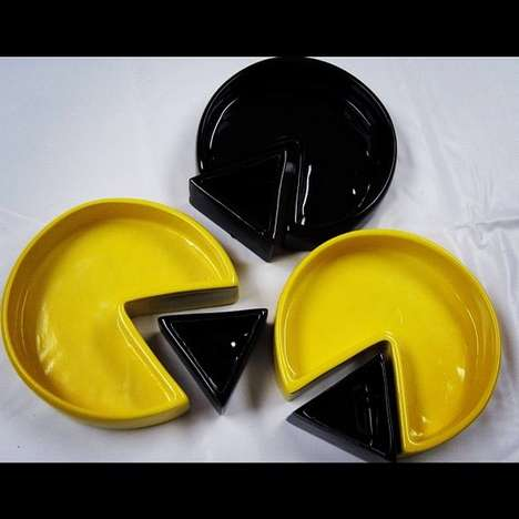 The Pac-Man Tableware Set Will Bring a Playful Element to Any Meal