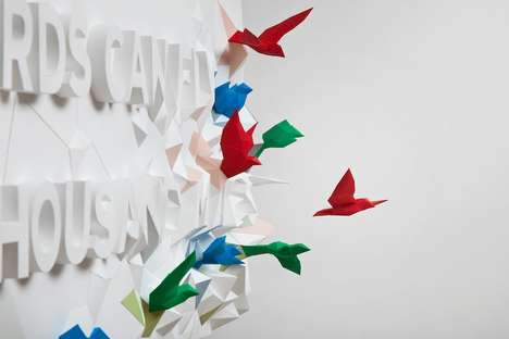 Hopeful Origami Typography