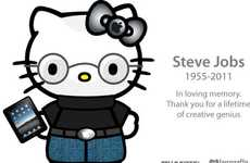CEO Cat Cartoons - Steve Jobs is Transformed into the LoungeFly 'Hello Stevie'