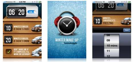 Alarming Winter Apps