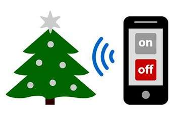 Remote Control Christmas Trees - The Switch-a-Tree App Allows You to Decorate Through Your Phone