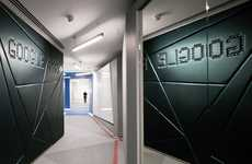 Futuristic Search Engine Offices - Penson Gives Google Engineering Headquarters a Cool Interior