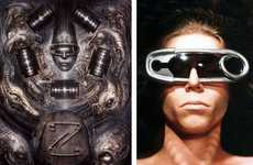 Giant Paperclip Sunglasses - Doktor A's H.R. Giger Glasses are Inspired by Illuminatus II
