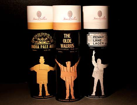 Fab Four Packaging