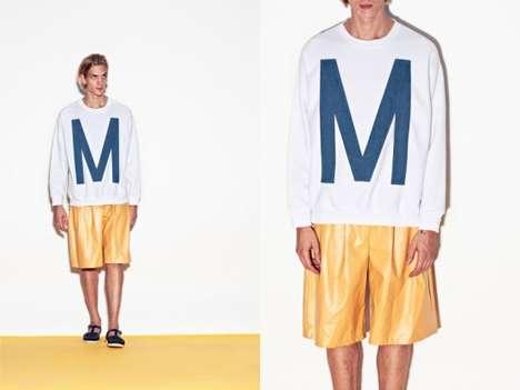 Monogrammed Menswear Lookbooks