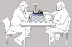 Projected Chess Sets