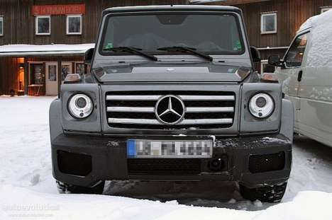 Luxury Off-Road Autos - A Sneak Peak at the Rugged Mercedes G65 AMG
