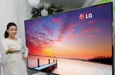 Colossal 3D TVs - The LG Ultra Definition is the Biggest Television of Its Kind