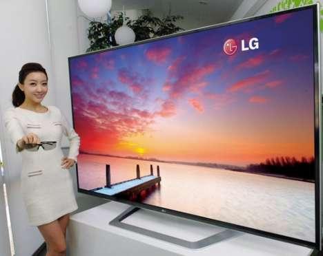 Colossal 3D TVs
