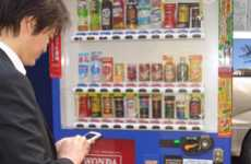 Internet-Enabled Soda Dispensers - The Wi-Fi Vending Machine by Asashi Offers Free Web Access