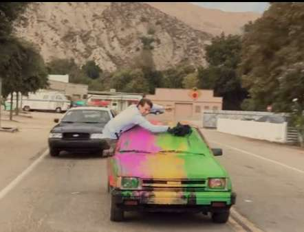 Parody Bi-Racial Cop Chases - The Foster the People 3D Music Video is Hilariously Hot