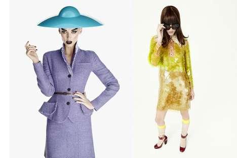 Eccentric Era-Based Fashion