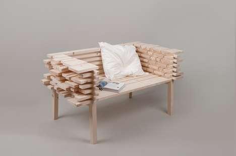 Raw Plank Seating