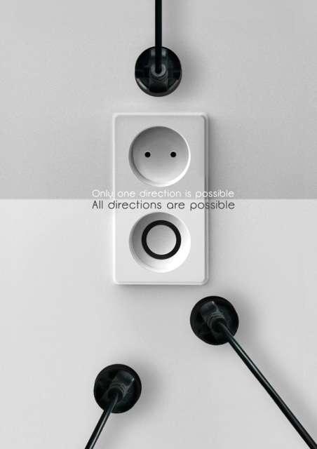 Angle-Less Power Sockets