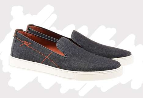 Lavish Denim Loafers