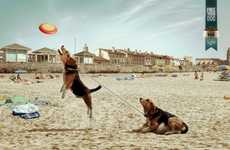 Fat-Free Dog Ads - The MasterDog Light Campaign Encourages Healthy and Active Pet Lives