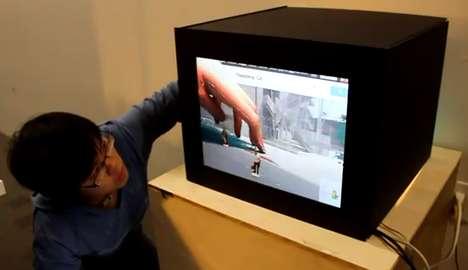 Interactive Virtual Televisions