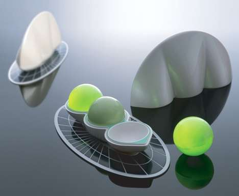 Solar-Powered Light Spheres