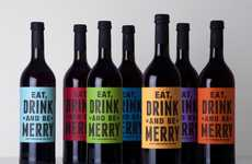 Jolly Beverage Branding - Buddy Mulled Wine Packaging Commands Festive Conduct