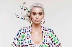 Fresh Fruity Collections (UPDATE) - Abbey Lee Kershaw for Versace for H&M Cruise 2012 Lookbook
