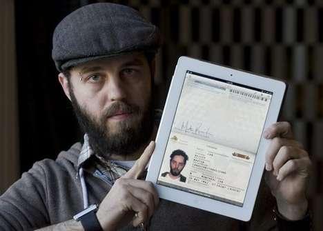 Tablet Customs Crossings