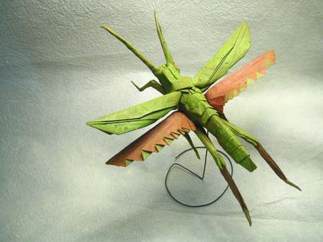 Life-Like Insectual Origami (UPDATE)