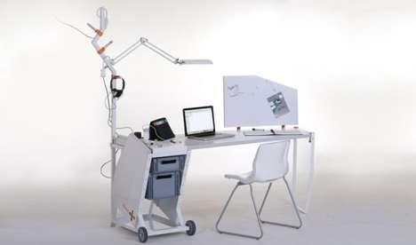 Functional Space-Saving Desks